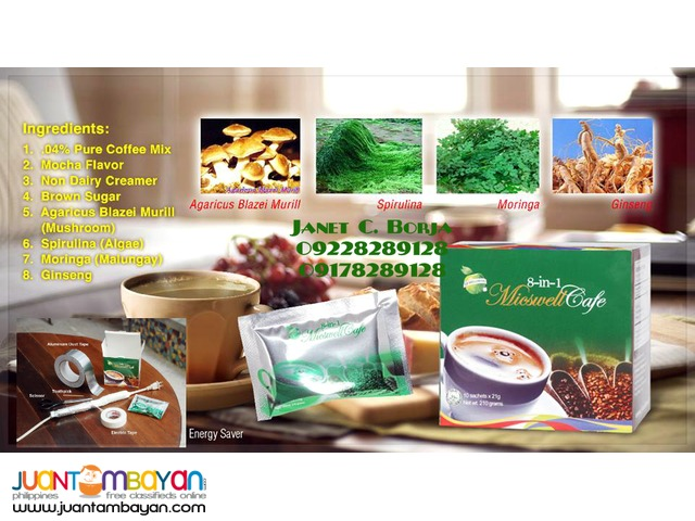 Micswell 8 in 1 Coffee - KURYENTIPID COFFEE