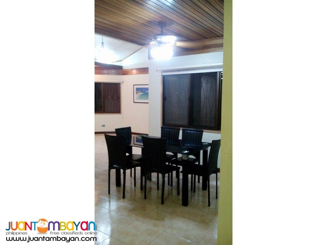 4 Bedroom House For Rent in Banilad Cebu City