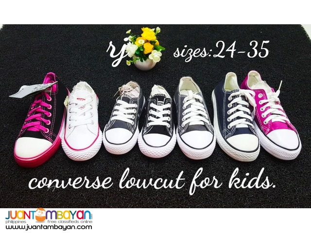 CONVERSE LOW CUT FOR KIDS - CONVERSE KIDS