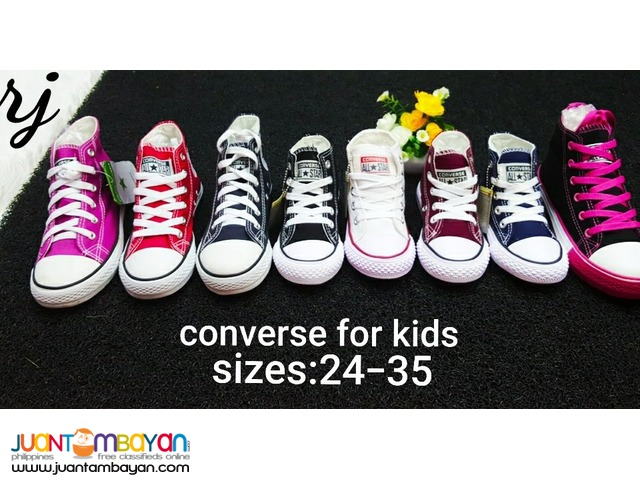 CONVERSE HIGH CUT FOR KIDS - CONVERSE KIDS