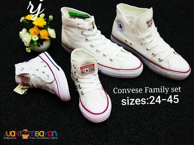 CONVERSE FAMILY SET - CONVERSE SET