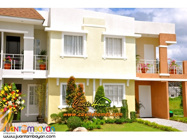 Diana Townhouse 3 bedrooms 2 bathrooms 1 balcony 1 carport