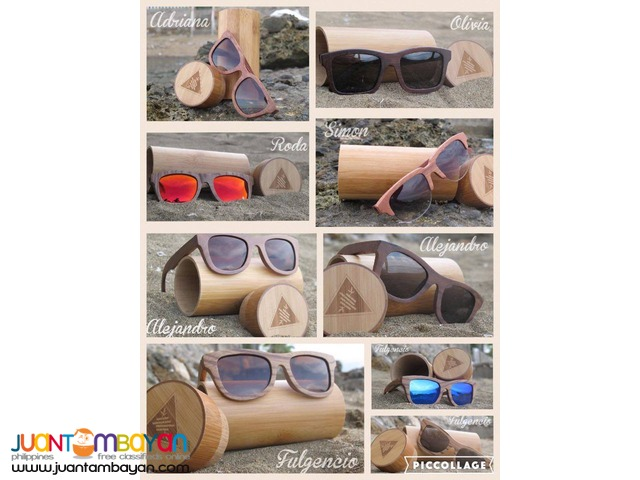 The Pump Dale ( Wooden Sunglasses )