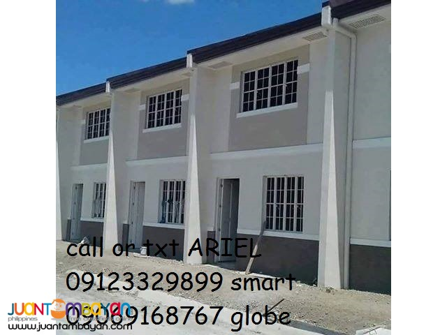Affordable Townhouses thru Pag-ibig at IBIZA TOWNHOMES
