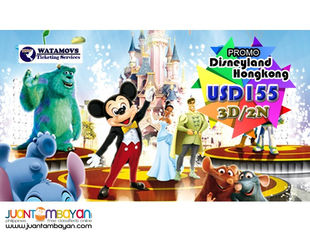 HONGKONG WITH FREE DISNEYLAND