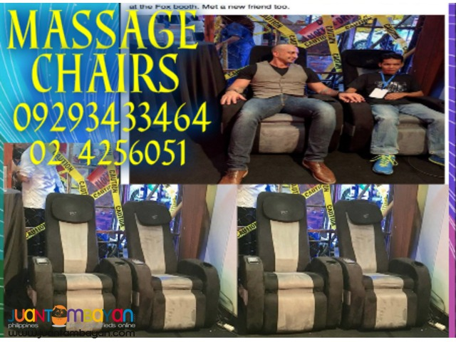 4 Massage Chairs for Father's Day Event