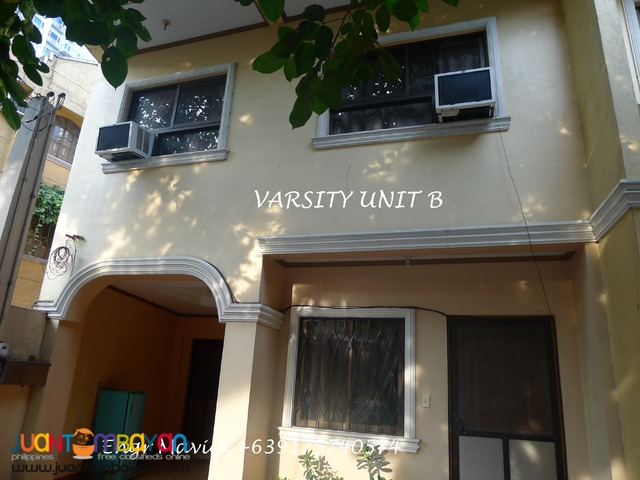 Townhouse for rent Loyola heights near Katipunan