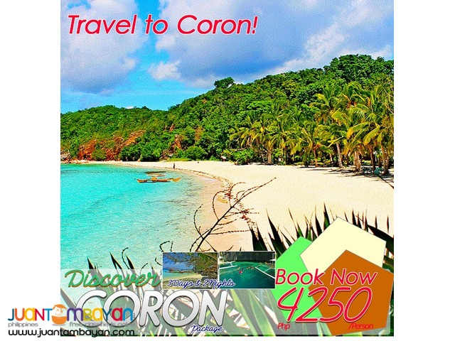 Plan your summer holiday3Days &2nights  travel to coroN