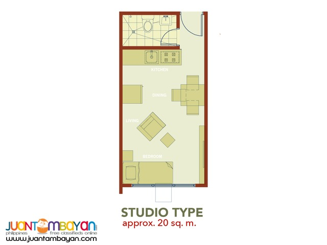 The MIDPOINT Residences 1Bedroom Mandaue City
