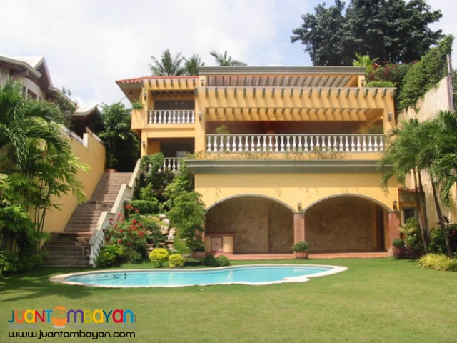 House and Lot for Sale in Maria Luisa Banilad Cebu City