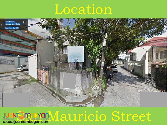 San Juan Manila House and lot for sale