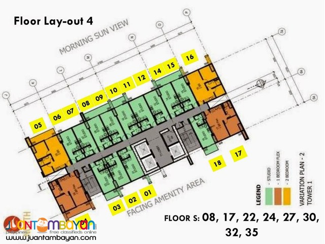 Affordable Condo In Sta.Mesa near SM PUP,JRU The Silk Residences