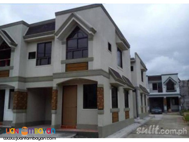 For SALE RFO SEMI Furnished Townhouse 4Km From QC Novaliches