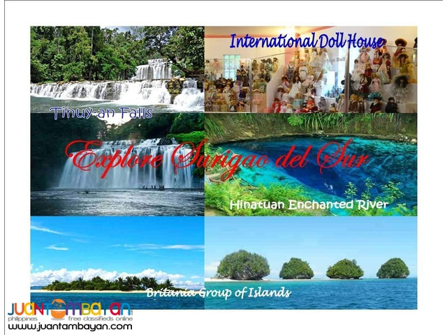 2D1N SURIGAO DEL SUR TOUR PACKAGE 2016