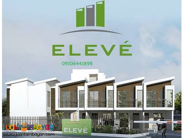 Townhouses for sale at Eleve Camarin road Caloocan City