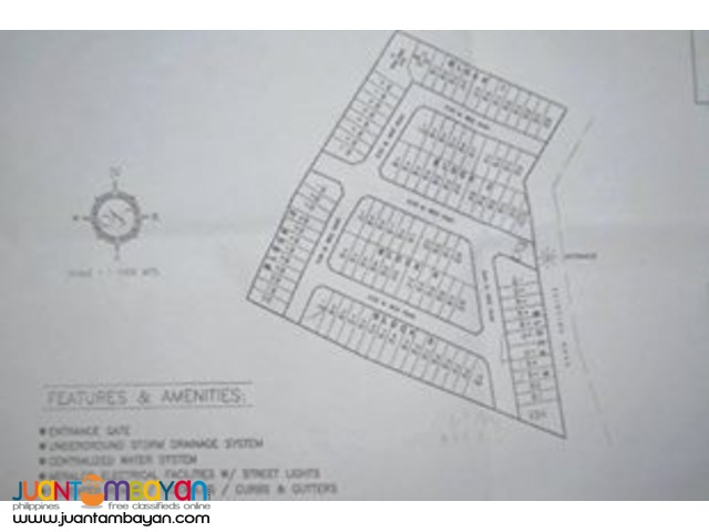 Residential Lots for sale Sta. Clarita Homes Rodriguez Rizal