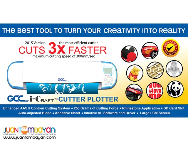GCC i-craft cutter plotter philippines