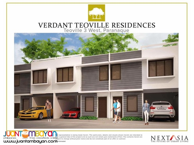 BRAND NEW TOWN HOUSE IN BF HOMES PARAÑAQUE