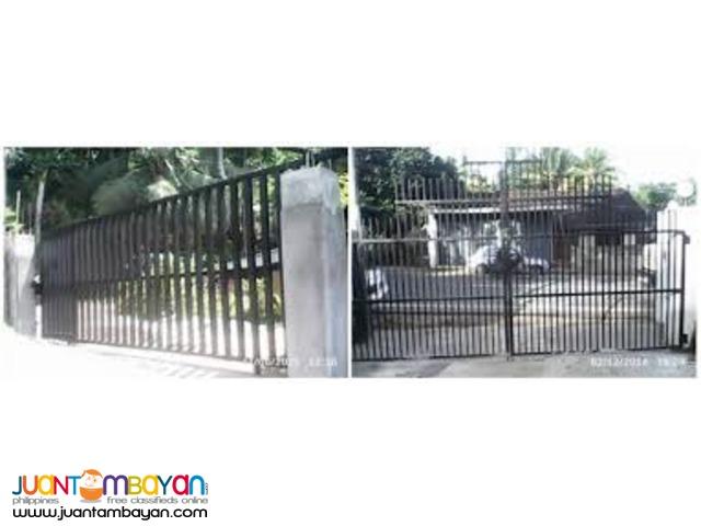 STEEL GATE, WINDOW GRILLS, STEEL FENCING NEAR SM FAIRVIEW
