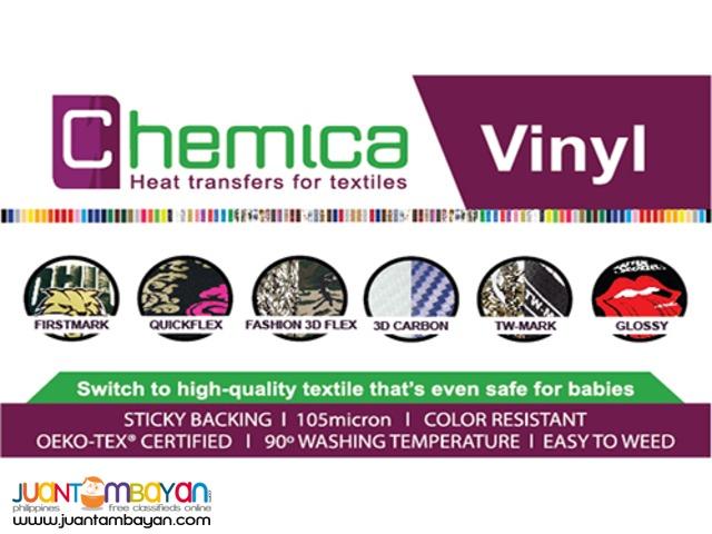Chemica Vinyl for Tshirt Printing