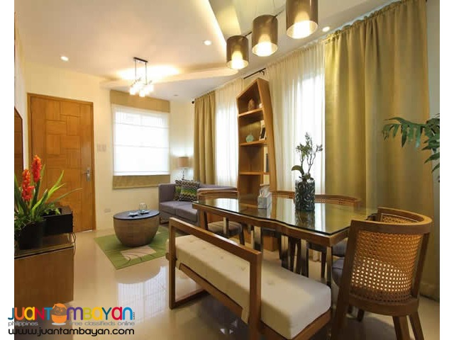 Rent to own townhouse through bank 4 bedroom with Terrace