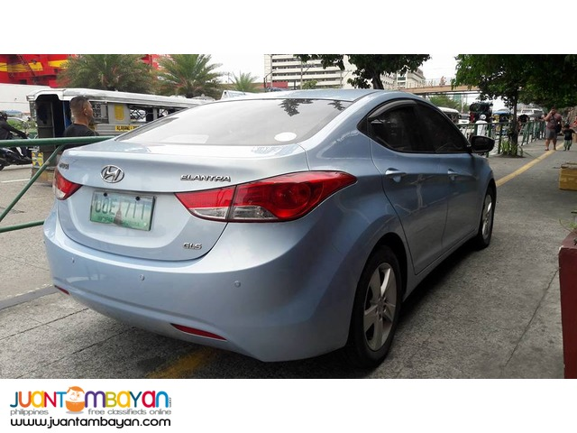 Hyundai Elantra 2013 GLS AT - 478T