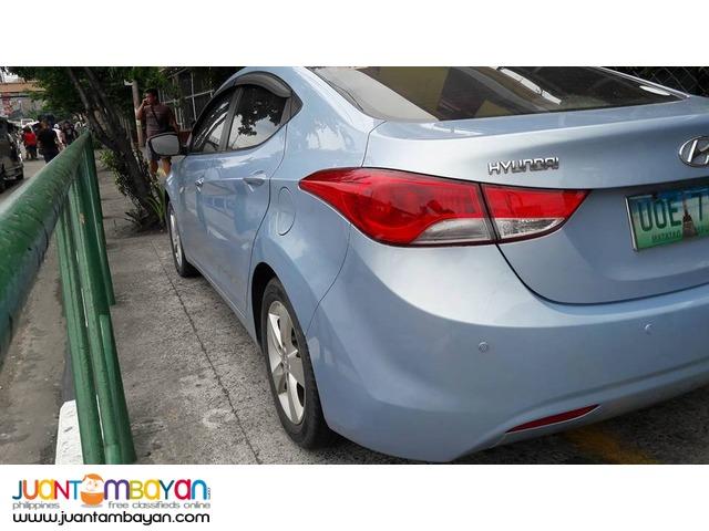 Hyundai Elantra 2013 GLS AT - 478T