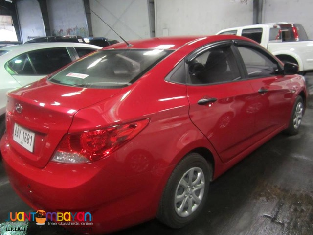 Hyundai Accent 2014 AT GAS - 478T
