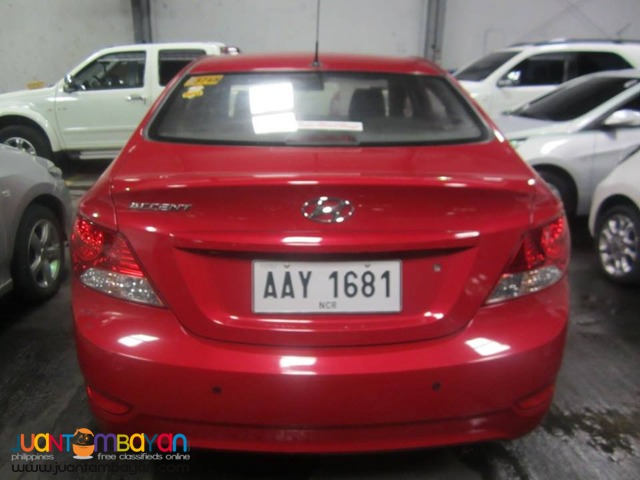 Hyundai Accent 2014 AT GAS - 478T