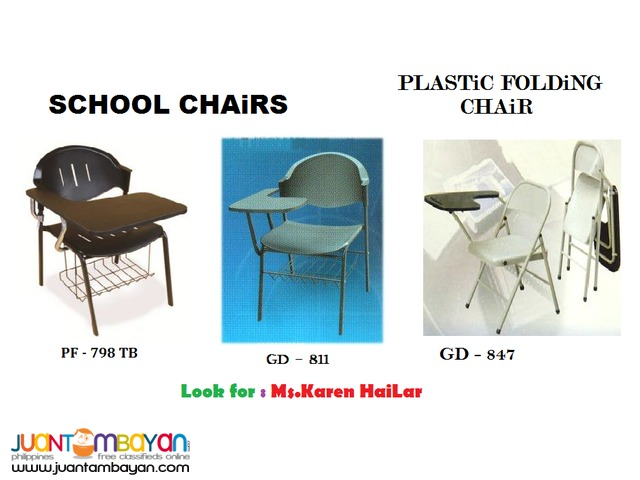 Plastic School Chairs ** Office Partition **