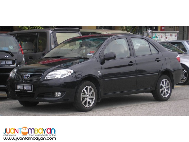 for rent: toyota vios black