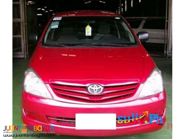 for rent: toyota vios red