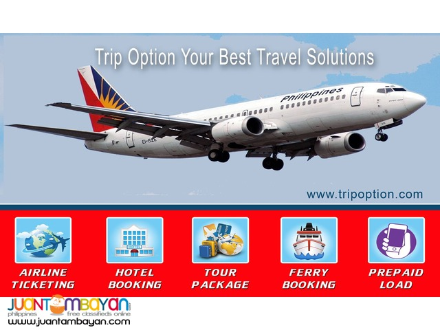 TRIP OPTION Best Online Ticketing Business
