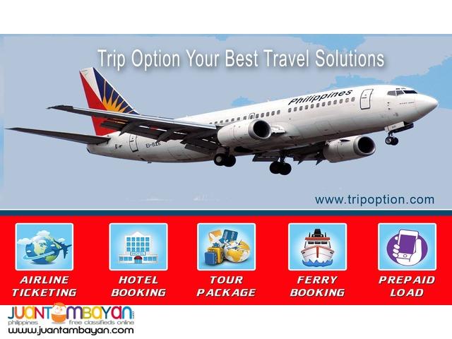 TRIP OPTION Best Online Ticketing Business