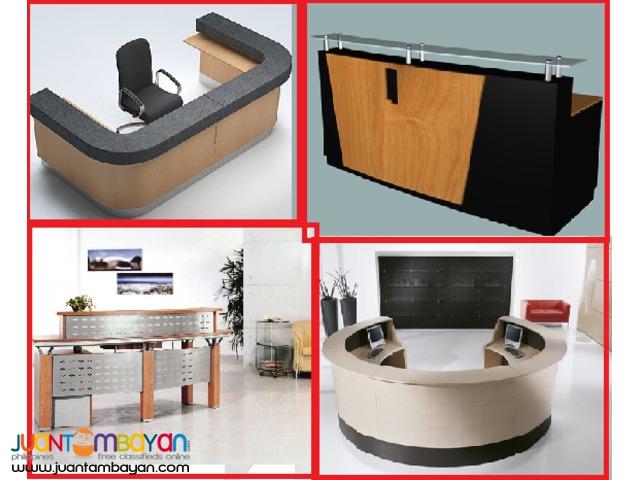 Reception-Desk ++ Office Partition --