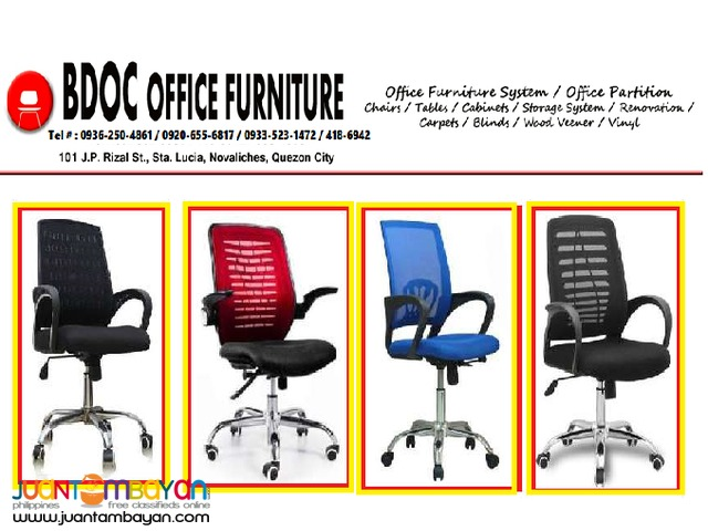 Also available Clerical and Executive Chairs ++Office Partition
