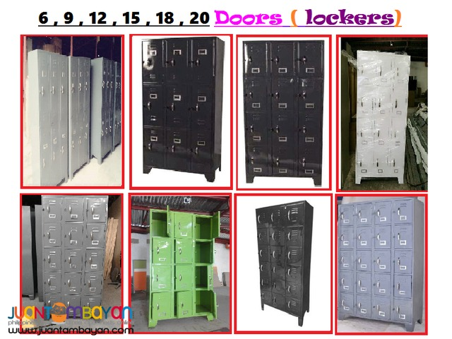 Brandew LOCKERS ( Customize Colors) Office Partition