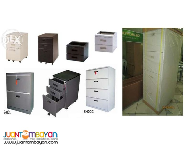 Metal Filing Cabinet [+ office partition +]