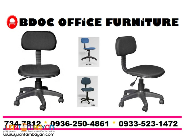 Clerical Chairs without armrest + Office Partition +