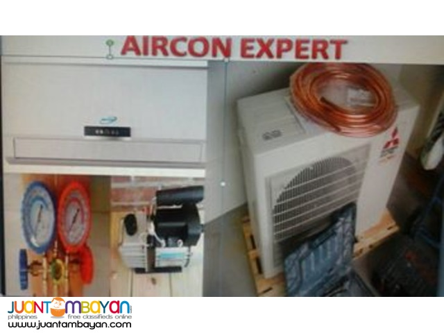 Repair, install,charging freon, mainteance,aircon cleaning