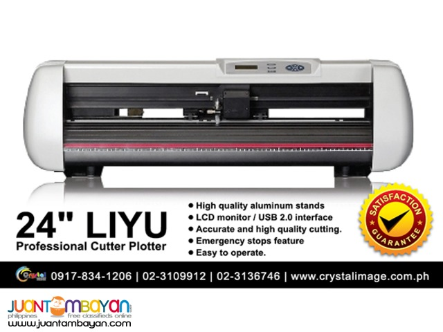 24in LIYU Cutter Plotter Machine for Sale