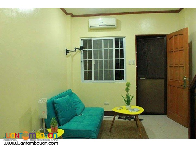 25k 2BR Furnished Apartment For Rent near Fuente Circle Cebu City