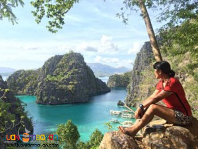 Budding tourist destination, Coron tour package