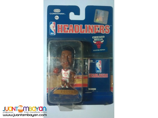 Rare NBA Headliners (set of 10) 80s-90s Legends Big Head Figurines