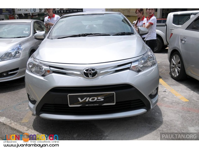 toyota vios silver for rent