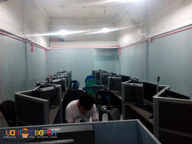 BPO/ Seat Leasing Angeles city Pampanga near Clark as low as 4,500