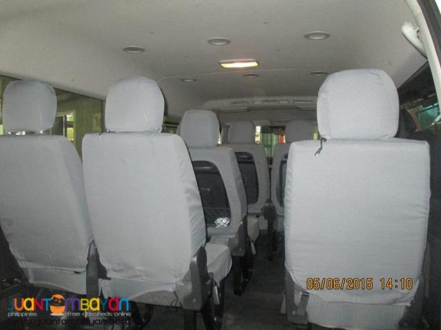 For rent: Nissan Urvan