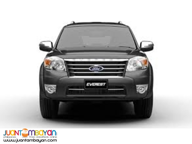 ford everest for rent