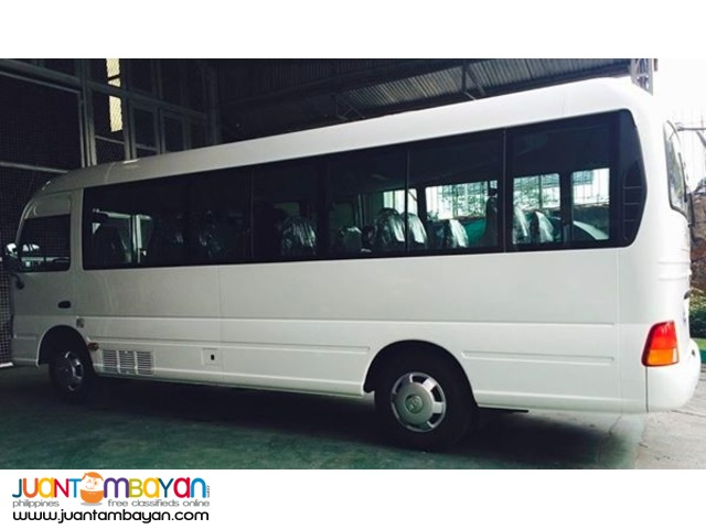 30 seater COASTER FOR RENT