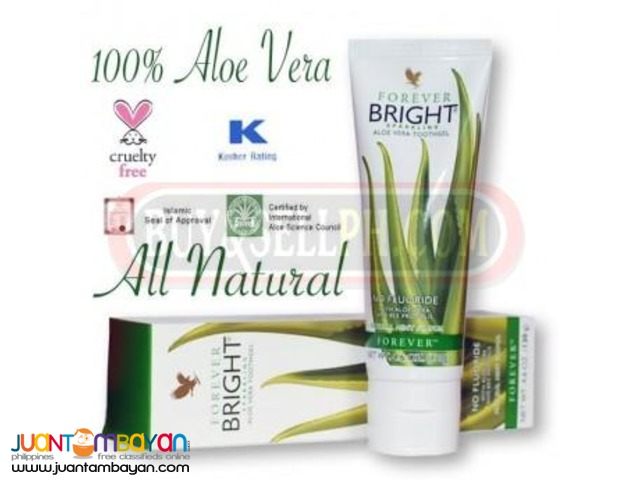Aloe toothpaste for kids and adults